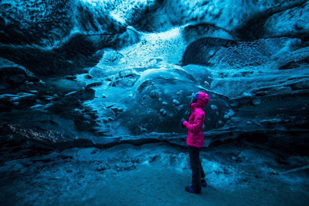 A Maldivian observing a changing climate from the ice caves of Iceland